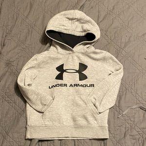 Under Armour grey sweatshirt 4T